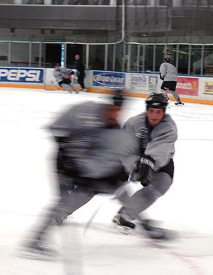 Los Angeles Kings NHL Training Camp 2005