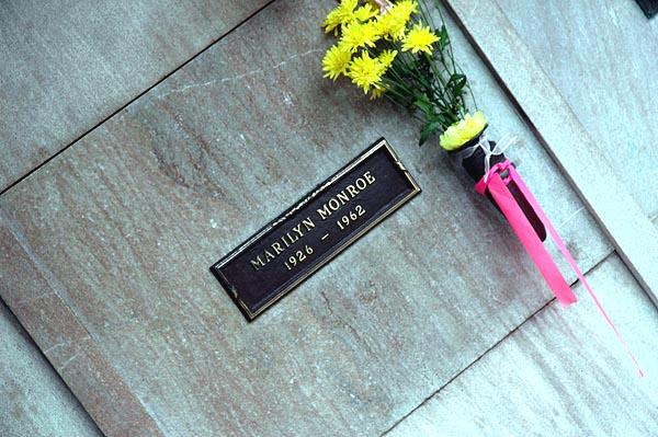Marilyn Monroe's crypt -