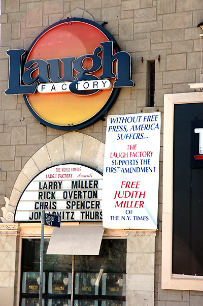 Free Judy Miller - Laugh Factory on Sunset