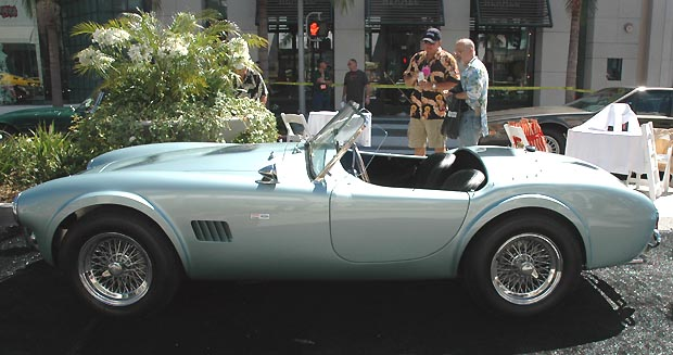 Restored AC Roadster