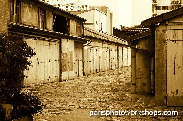 Paris: Garages and storage...