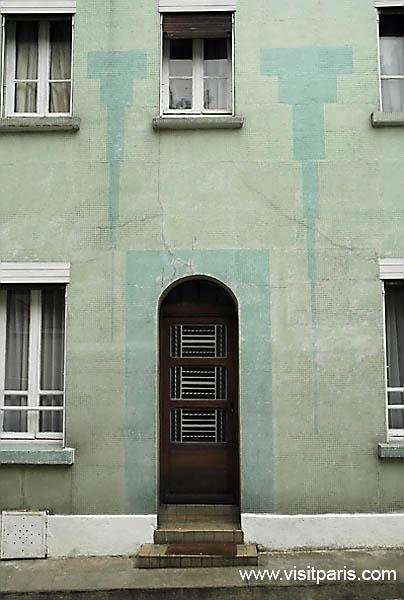 Paris doorways -