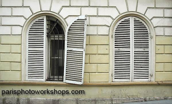 Paris shutters...
