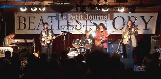 Beatles revival band - Paris