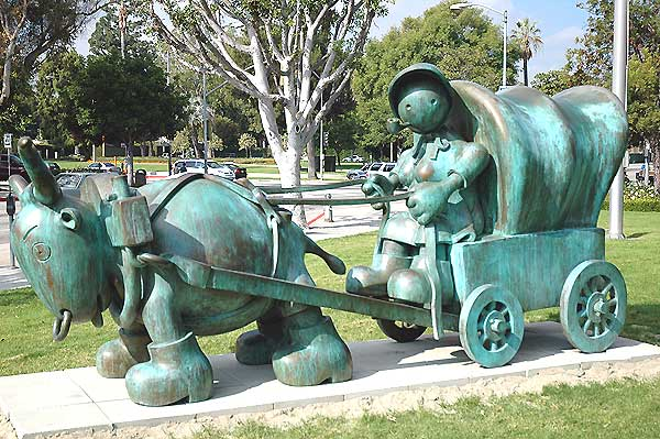 Otterness in Beverly Hills, November 2005
