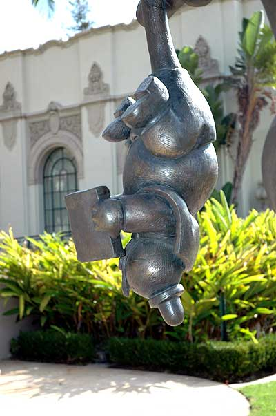 Otterness in Beverly Hills, November 2005