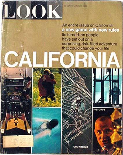 Look magazine's June 28, 1966 California issue -