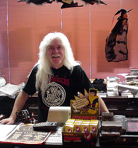 "He puts the ""Del"" in the Dark Delicacies Bookstore"
