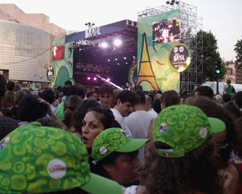 Paris Bastille Day 2005 Brazil