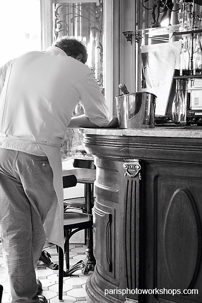 Paris chef takes a break...