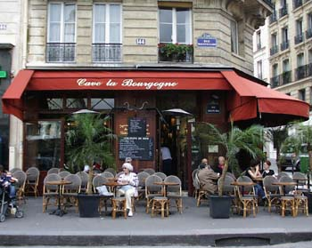 Cafe in Paris - June 4, 2005