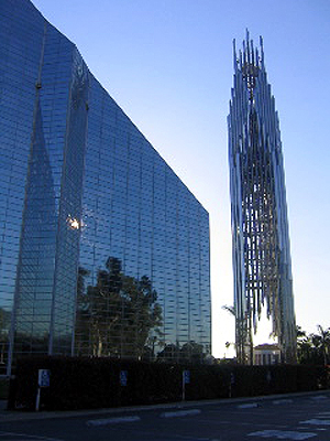 Crystal Cathedral in Garden Grove, California