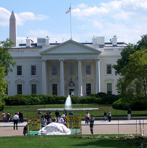 White House protestors...