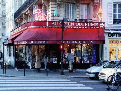 """At the Smoking Dog"" - Paris - December 2005"
