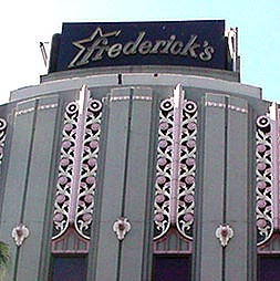 The original Frederick's of Hollywood