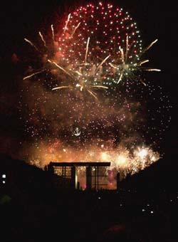 Bastille Day Fireworks, Paris 2006
