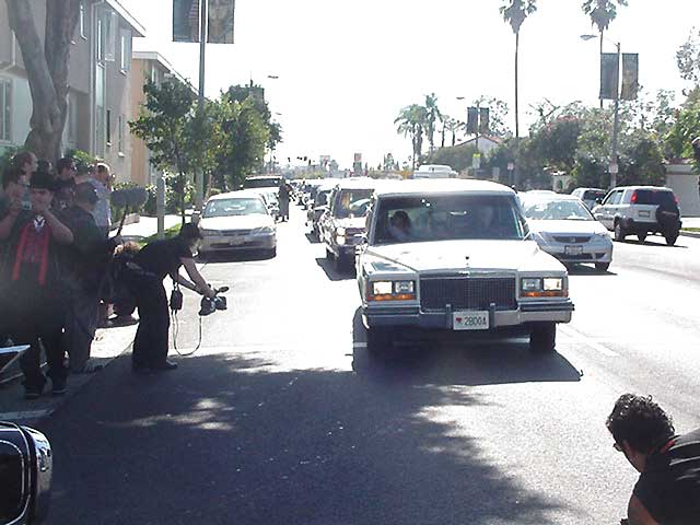 The World's Longest Hearse Procession 10/29/05
