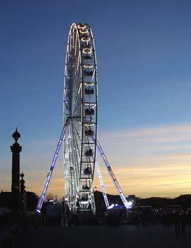 Ferris wheel, Place de la Concorde, December 2005