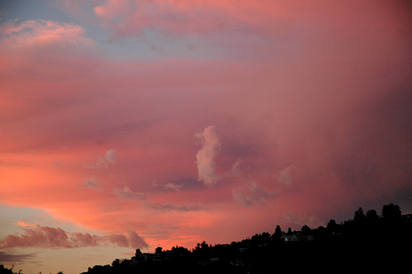 Sunset in Hollywood, September 30