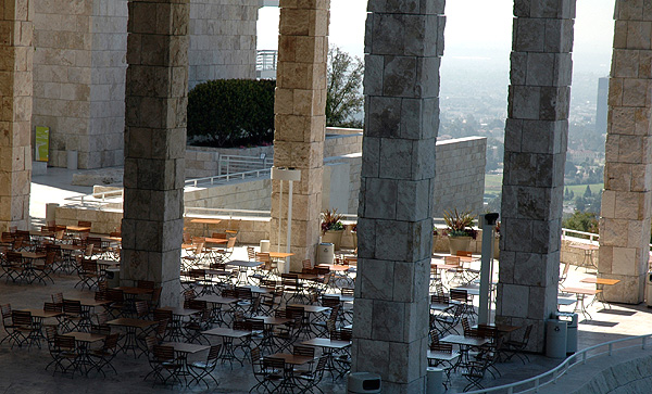 The Getty Center, Friday, August 26, 2005