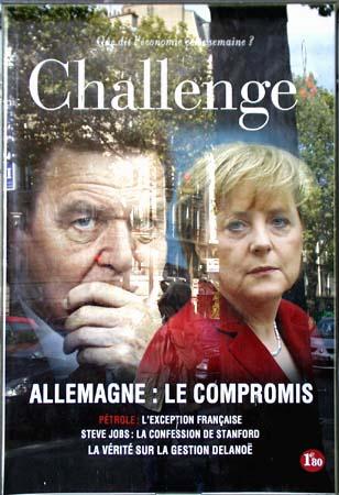 Gerhard and Angela - Paris Poster