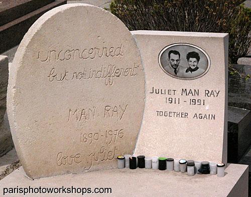 Photographer's Grave - Paris, France