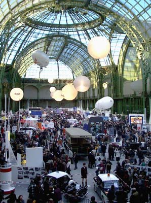 Grand Palais 2005 'Passion Transport' exhibit