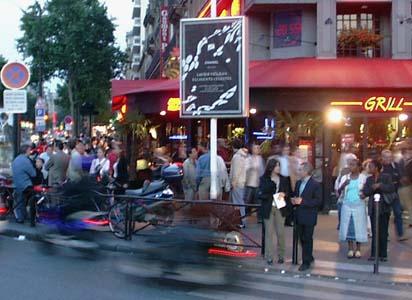 Grill, Montparnasse, 9 July 2005