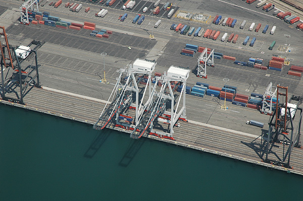 Port of Los Angeles, Cranes