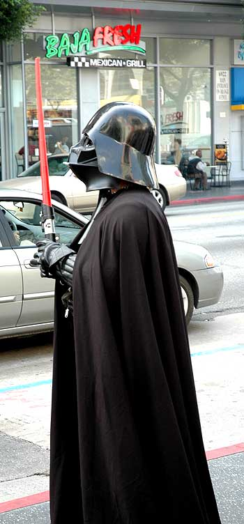 Darth Vadar needs a burrito!