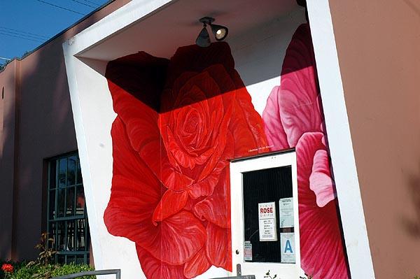 Rose Café front door...