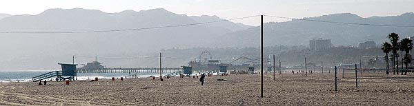 Dreamscape: Santa Monica Pier to the North