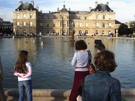 ...the Senat in the Luxembourg, October 2005