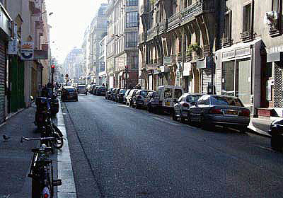 Noon light, Paris, 20 November 2005