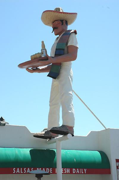 Malibu - July 2005  Salsa Man!