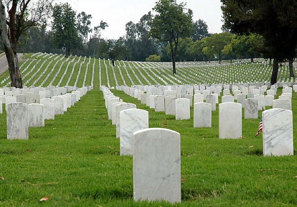 National Cemetery, Westwood, CA 