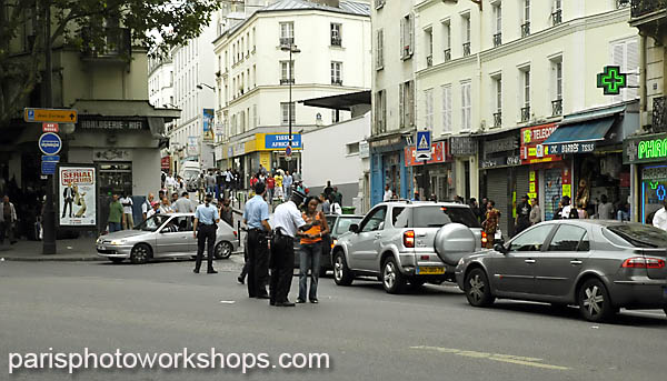 Paris metro fire, Saturday, August 6, 2005