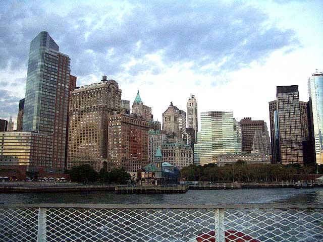 Manhattan Skyline - October 2005