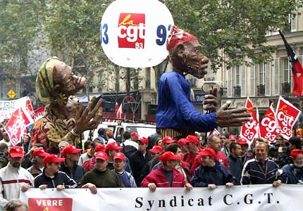 Nationwide strike in France, October 4, 2005