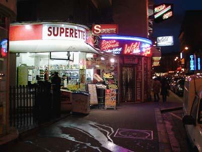 """Paris """"Superette"""" - December 2005"""