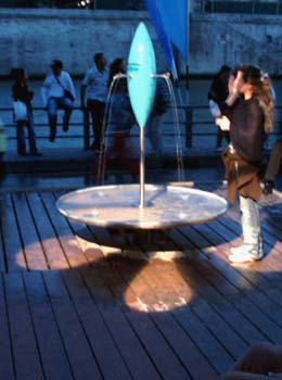 "Paris ""Fountain of Light"""