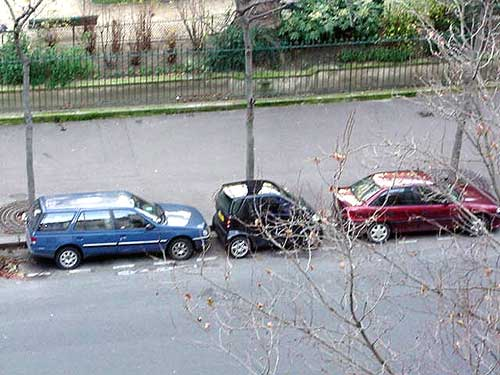 Paris Parking, December 2001