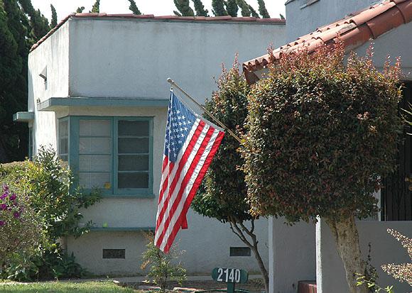 Santa Monica Flag