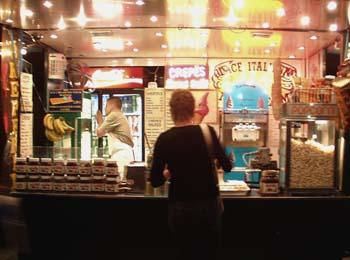 Paris Popcorn Stand, August 2005