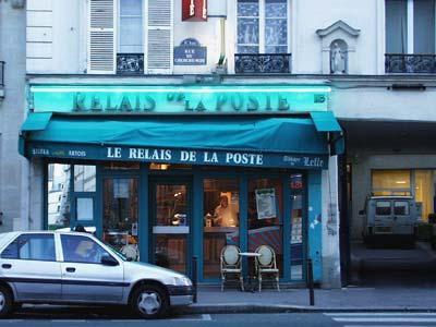 """""""Poste"""" café - Paris - December 2005"""