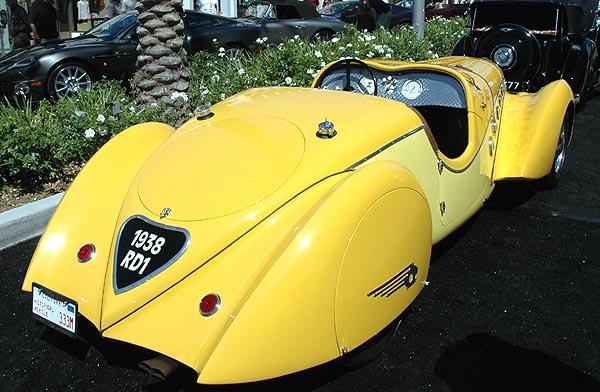 A 1938 Peugeot Darl'Mat