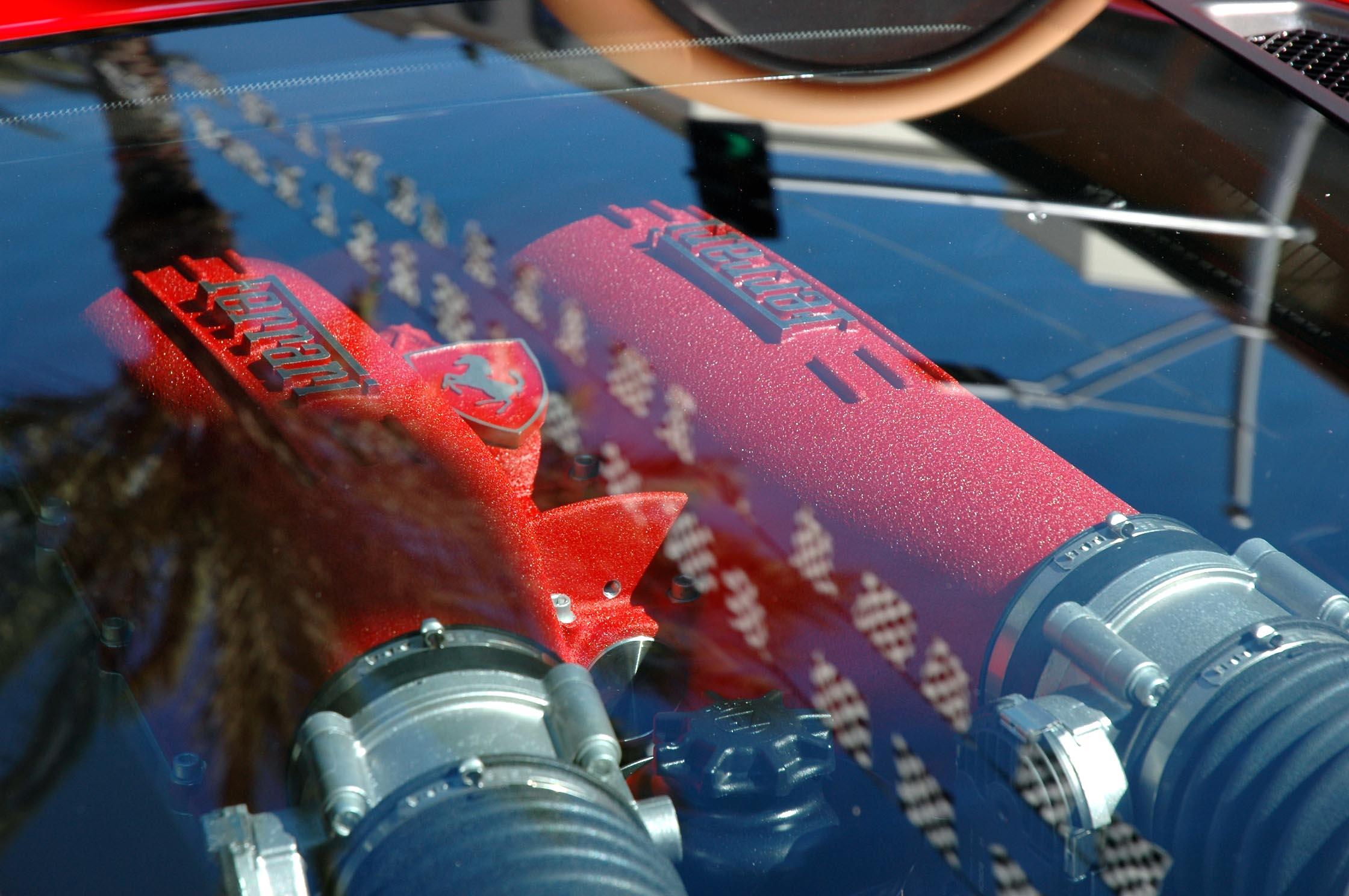 Ferrari F430 heads...