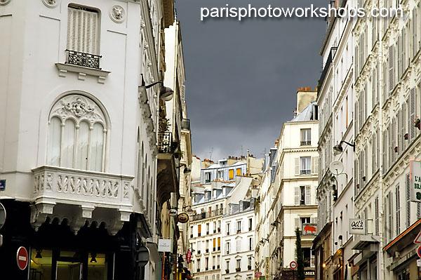 Paris: Rain Clouds