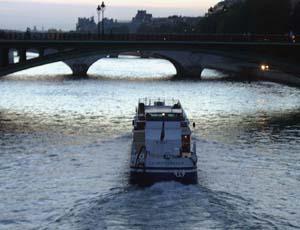 The Seine, sunset, 2 July 2005