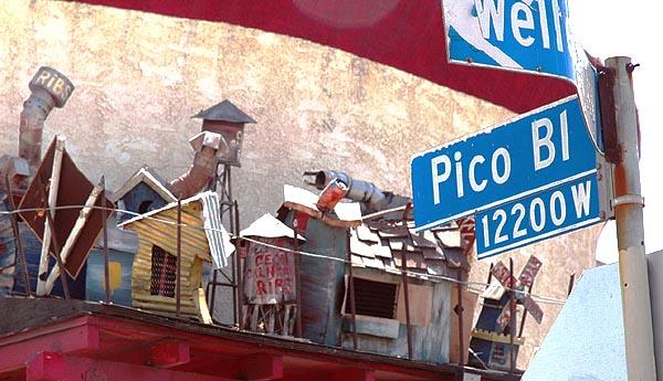 The shantytown at Pico
